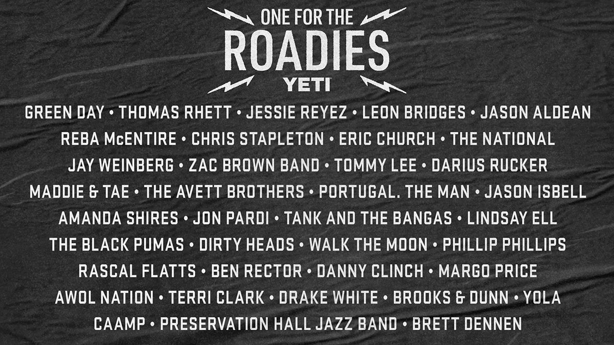 Chris Stapleton, Zac Brown Band, Thomas Rhett, Jessie Reyez, Leon Bridges, Jason Aldean, Portugal. The Man, The National