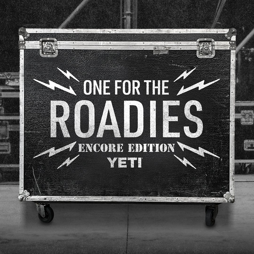 YETI Relaunches #OneForTheRoadies Campaign with Encore Edition to Support Crew Nation