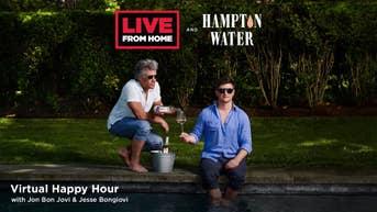Virtual Happy Hour & Concert With Jon Bon Jovi