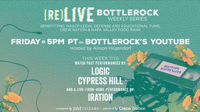 Logic and Cypress Hill on (re)LIVE BottleRock This Week