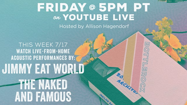 Jimmy Eat World and The Naked And Famous on (re)LIVE BottleRock This Week