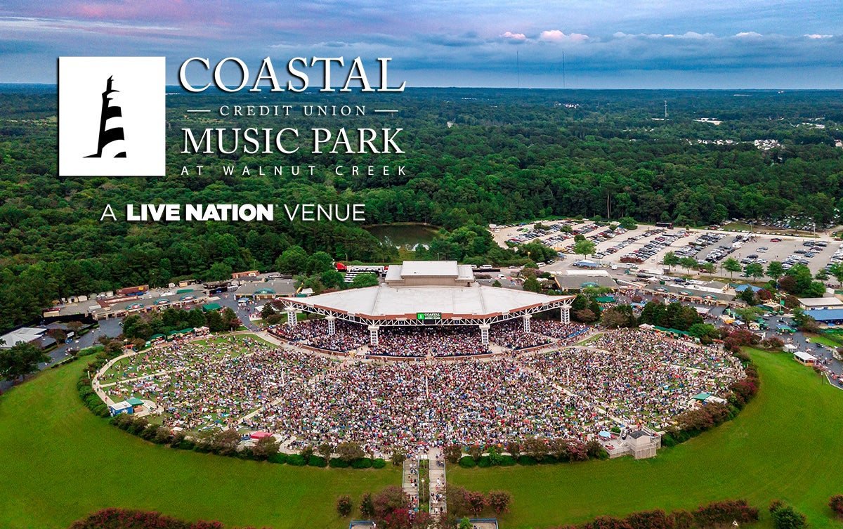 Coastal Credit Union Music Park at Walnut Creek