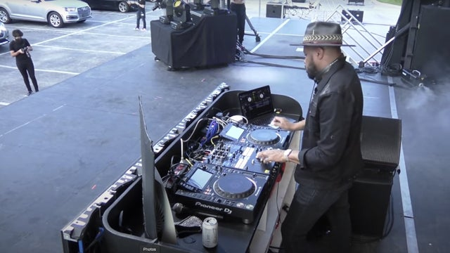 DJ D-Nice Hosts Drive-In Concert for First Responders