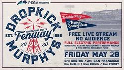 Dropkick Murphys, Bruce Springsteen to Play for Empty Fenway Park Tonight