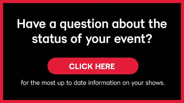 Live Nation Event Status Updates