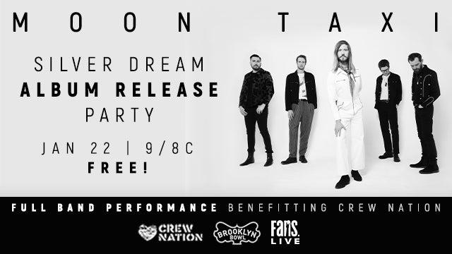 Moon Taxi AnnouncesSilver DreamLivestream Album Release Show On January 22