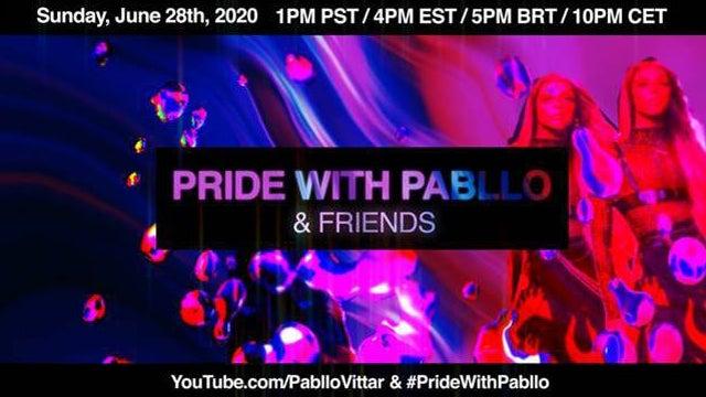 Pabllo Vittar Announces 'PRIDE with Pabllo & Friends'