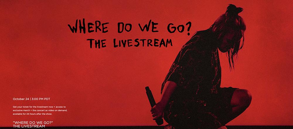 Billie Eilish Announces Global Livestream Concert