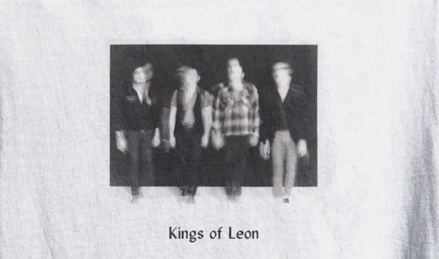 Kings of Leon Partner with Crew Nation for Limited Edition T-Shirt