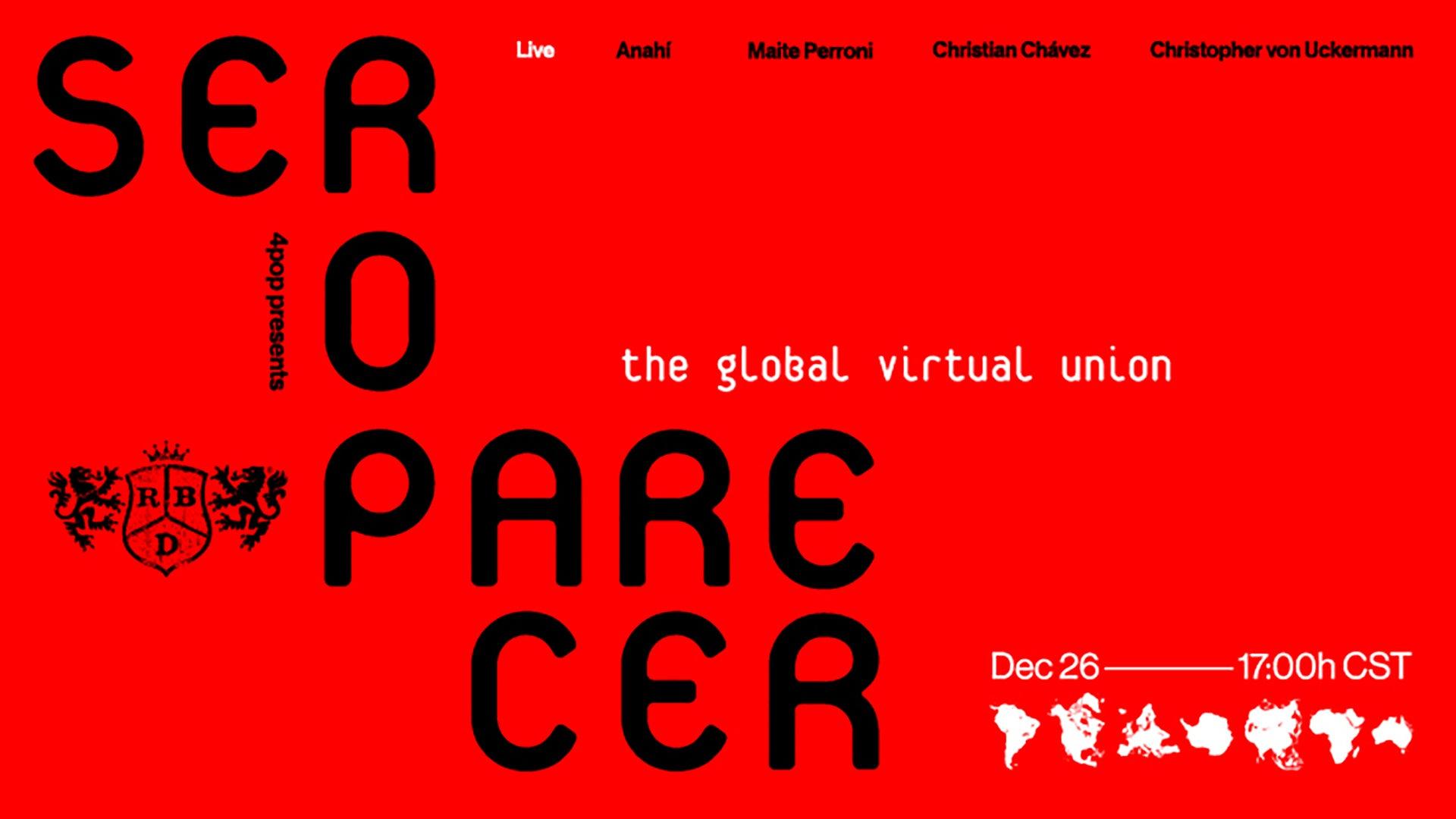 RBD ANNOUNCES WORLDWIDE EVENT 'SER O PARECER' — Live Nation