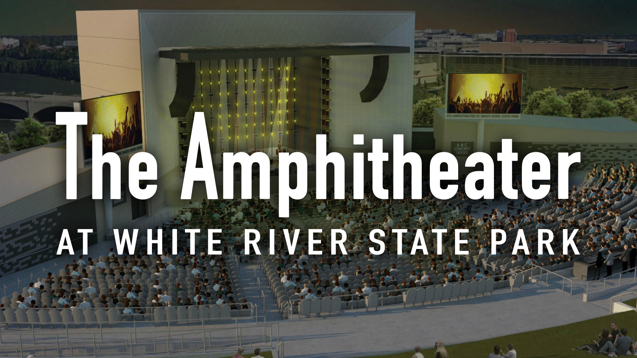 Amphitheater At White River State Park