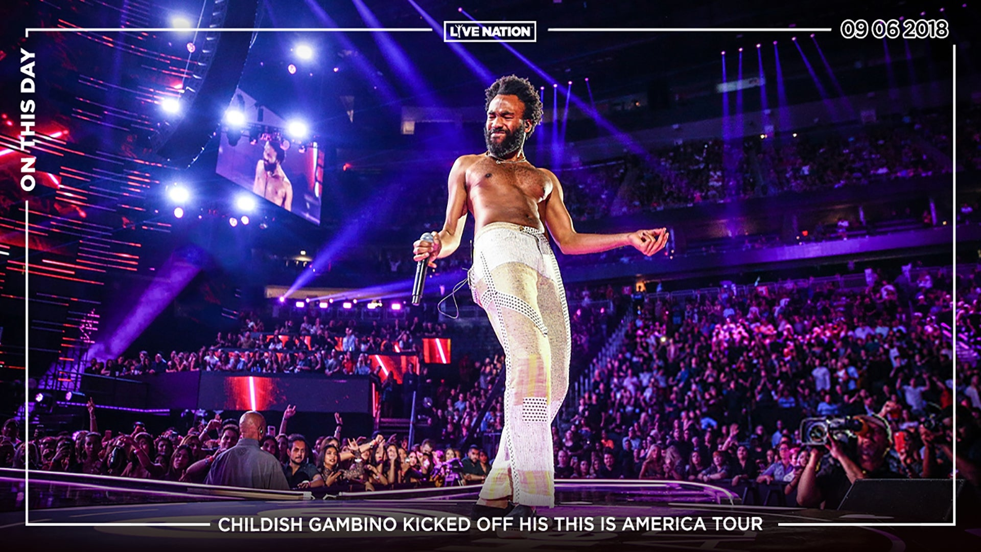 On This Day - Childish Gambino This Is America Tour