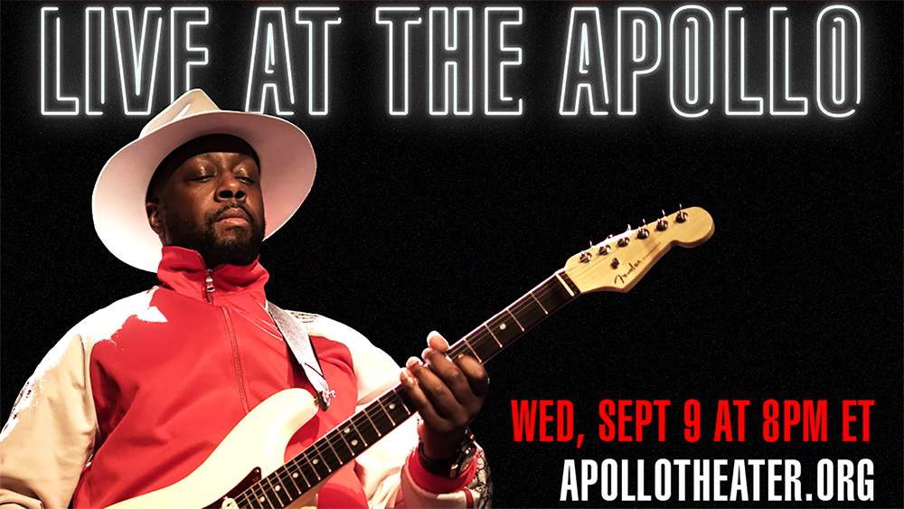 Watch Wyclef Jean Live At The Apollo Digital Stage
