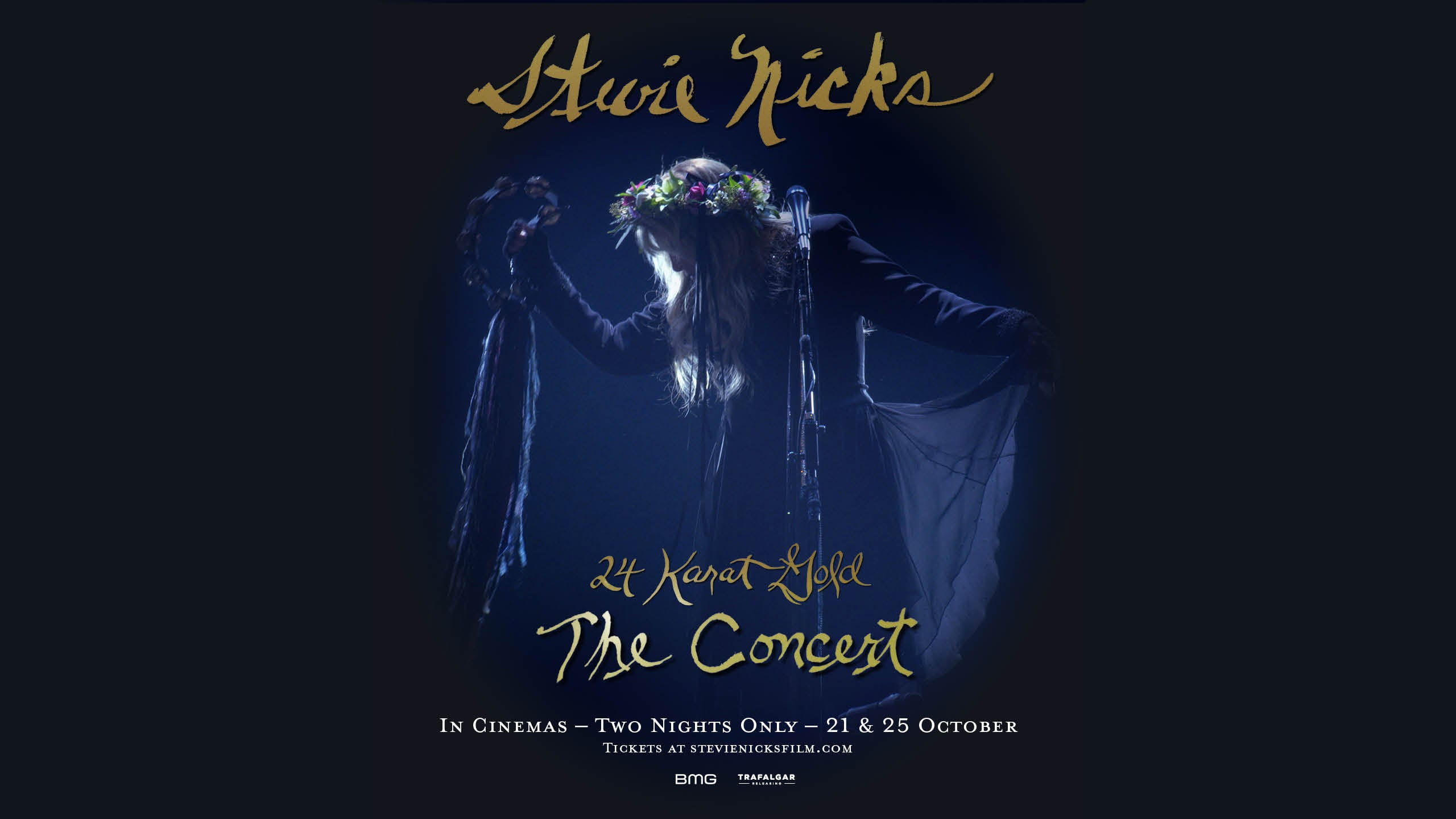 STEVIE NICKS 24 KARAT GOLD THE CONCERT IN CINEMAS WORLDWIDE OCTOBER 21 & 25